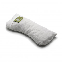 Kurma Yoga Eye Pillow Linen Ecru