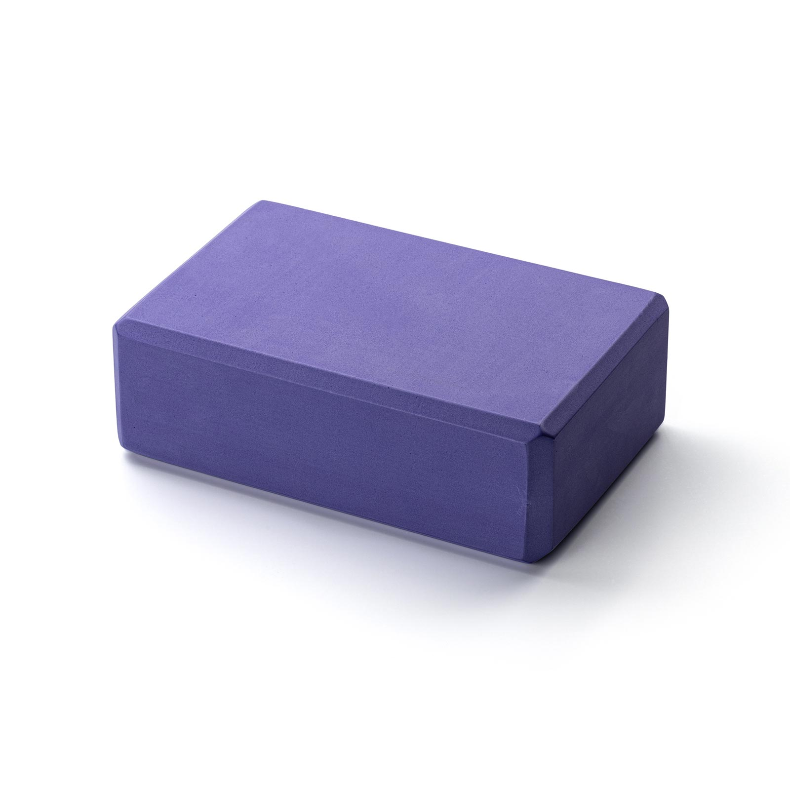 Kurma Yoga Foam Block Brick Purple
