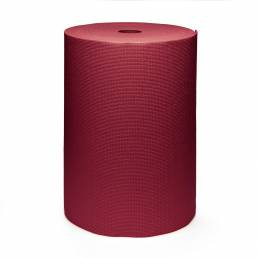 Kurma Safran Yoga mat roll brick red upright