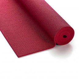 Kurma yoga mat Safran Brick Red
