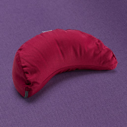 Kurma yoga crescent cushion burgundy