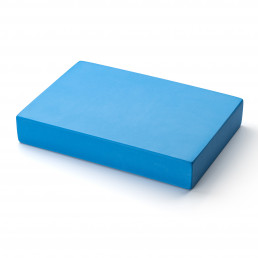 Kurma yoga flat foam block light blue
