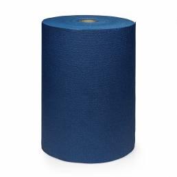 Kurma Extra Yoga mat roll dark blue upright
