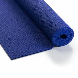 Kurma Extra Yoga mat spectrum blue rolled