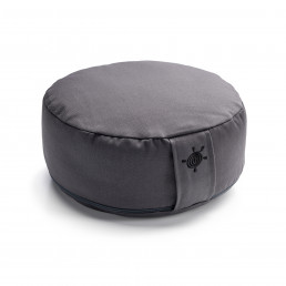 Kurma yoga round cushion anthracite