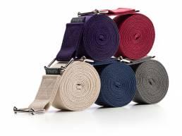 Kurma Evolve Yoga straps stacked
