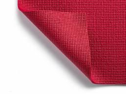 Kurma Safran Yoga mat burgundy folded