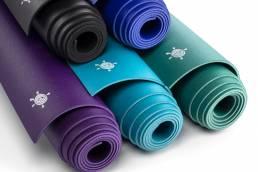 Kurma Geco Lite Yoga mats pyramide group shot